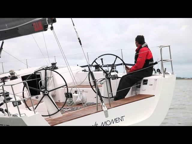 How to helm upwind. Tips from round the world sailor Brian Thompson