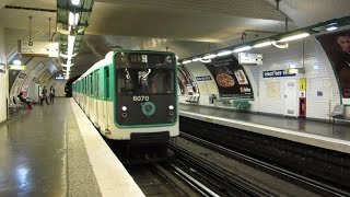 preview picture of video '[Paris] MP59 Métro 11 - Place des Fêtes'