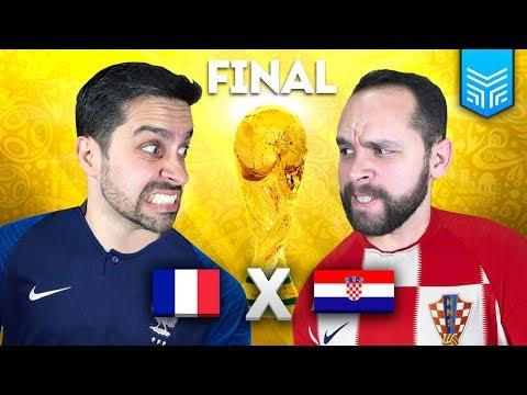 CROÁCIA X FRANÇA - COPA 2018 (FIFA 18 GAMEPLAY) 3b0bf9ec1ceb4