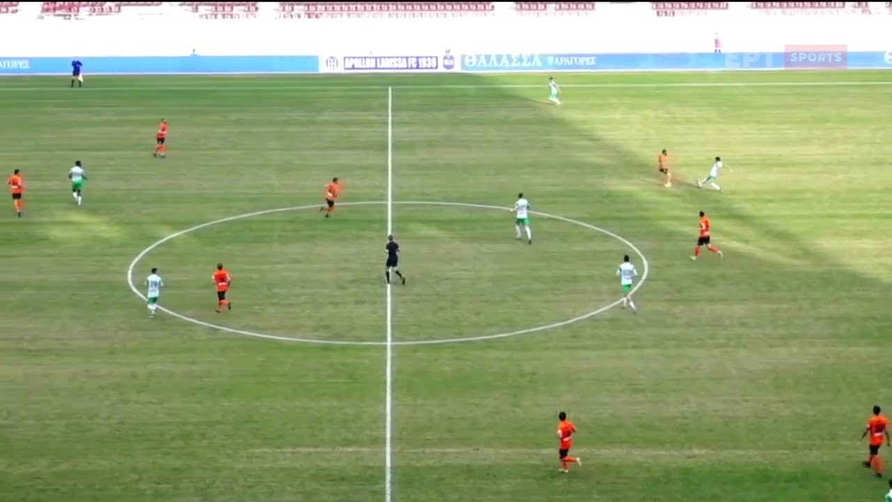 Super League 2   Απ. Λάρισας – Καραϊσκάκης: Λόμπα του Μπαστιάνου 3-0   07/02/21   ΕΡΤ