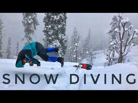 Snow Dive   Arang Kel   Neelum Valley   Azad Jammu Kashmir