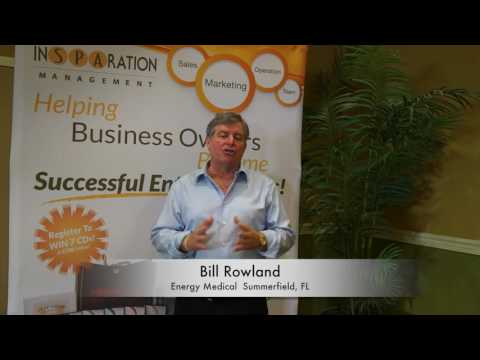 Bill Rowland - Energy Medical - medspa growth, consulting, the state of the medspa industry, who can own a medspa, medspa compensation, medical spa marketing, medspa marketing, how to open a medical spa, hiring for medspa, medspa profitability, top revenue generating for medical spas, how to make money with your medical spa, medspa business training, mistakes to avoid when opening a medical spa, medspa consulting, medspa management, Medspa business education, Medspa success business tools, Medspa legal guidelines
