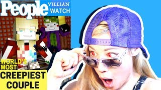 ★♫ CREEPIEST COUPLE EVER! | REACTION to NEMESIS 1 | HARLEY QUINN vs. PSYCHO GiRL