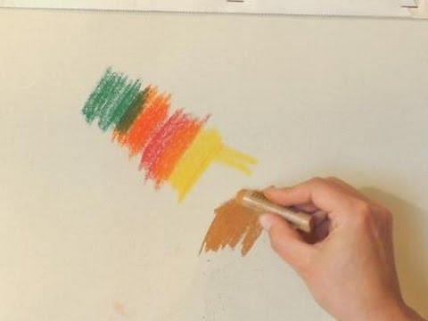 Zeichnen lernen für Anfänger: Pastellkreiden vorgestellt [Teil 1] / Zeichenmaterial Pastellkreide