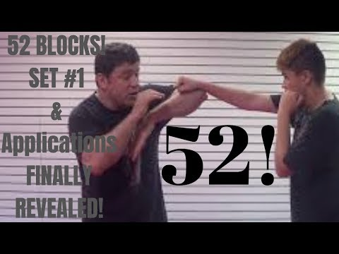 1st Set 52 Blocks finally revealed 26 Punch Block Drill Bare Knuckle ...