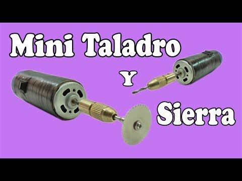 Cómo Hacer Un Mini Sierra y Taladro Potente (Muy fácil de hacer)