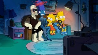 Reverse It: The Simpsons - Treehouse of Horror XXIV - Guillermo del Toro Intro