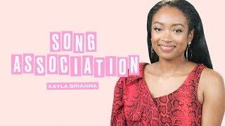 Kayla Brianna Sings Calvin Harris, Michael Bublé, and H.E.R.   Song Association   ELLE