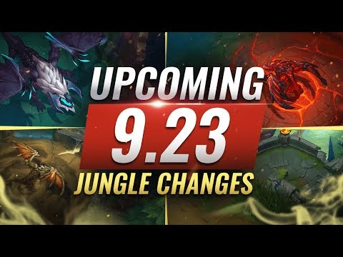 MASSIVE CHANGES: New JUNGLE + LANE CHANGES Coming in Patch 9.23 - League of Legends