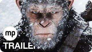Trailer of Planet der Affen - Survival (2017)