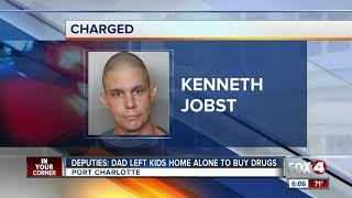 Dad left kids home alone to get drugs Port Charlotte