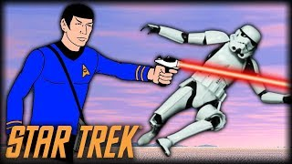 Star Trek Battlefront 2 - Funny Gameplay Moments (The Spockening)