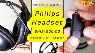Philips Headphones Unboxing | Philips Pc Headset (Philips SHM1900)