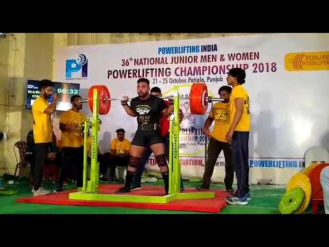 290 Kg Squat By Angad Sultan ... National record Holder