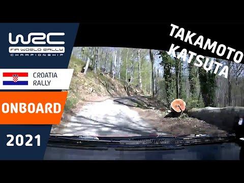 勝田選手のラリーテクニックが頻繁に見えるオンボード映像 WRC 2021 第3戦ラリー・クロアチア