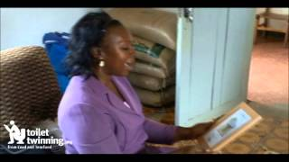 preview picture of video 'Toilet Twinning Uganda meets Tŷ Cariad Africa'