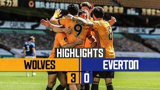 JIMENEZ, DENDONCKER AND JOTA ON TARGET!   Wolves 3-0 Everton   Highlights