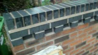 preview picture of video 'Decorative brickwork on a budget.'