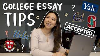 last minute college application essay tips, I got u