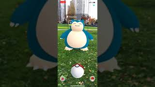 Snorlax flees in new Pokemon Go augmented reality mode