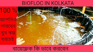 BioFloc fish farming training in Kolkata on 27-28 July 19
