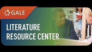 Literary Analysis- Literature Resource Center