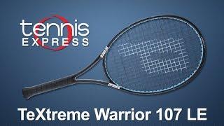 Ρακέτα τέννις Prince TeXtreme Warrior 107 video