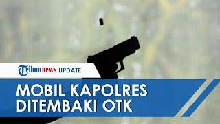 Kronologi Mobil Rombongan Kapolres dan Brimob di Papua 3 Kali Ditembaki OTK seusai Bagikan Sembako