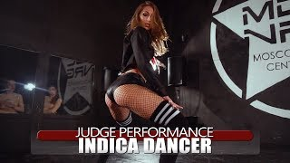 Fergie - Hungry|Judge twerk perfomance by Indica