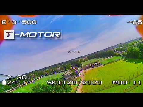 T-Motor Pacer P2207.5 test-flight (DVR recording)