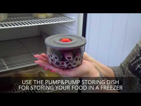 Video Simax Sada skleněných dóz PUMP & PUMP, 3 ks 2