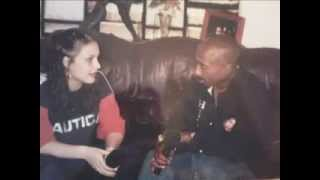 Angie Martinez - Tupac Exclusive Interview Clip, Pac's view on Women vs B*tches