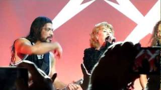 Metallica w/ Marianne Faithfull - The Memory Remains (Live in San Francisco, December 7th, 2011)