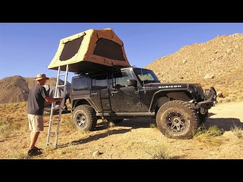 Jeep Wrangler Overland Adventure and Off Road Tour of Death Valley