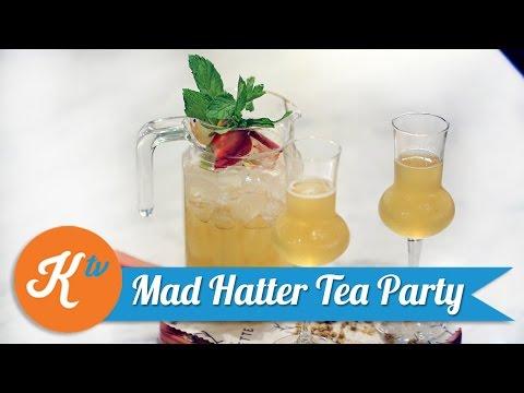 Video Resep Mad Hatter Tea Party Cocktail | PUBLIK MARKETTE