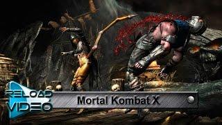 саундтрек Mortal Kombat X, (The Enigma TNG - Mortal Kombat X Theme), клип на игру