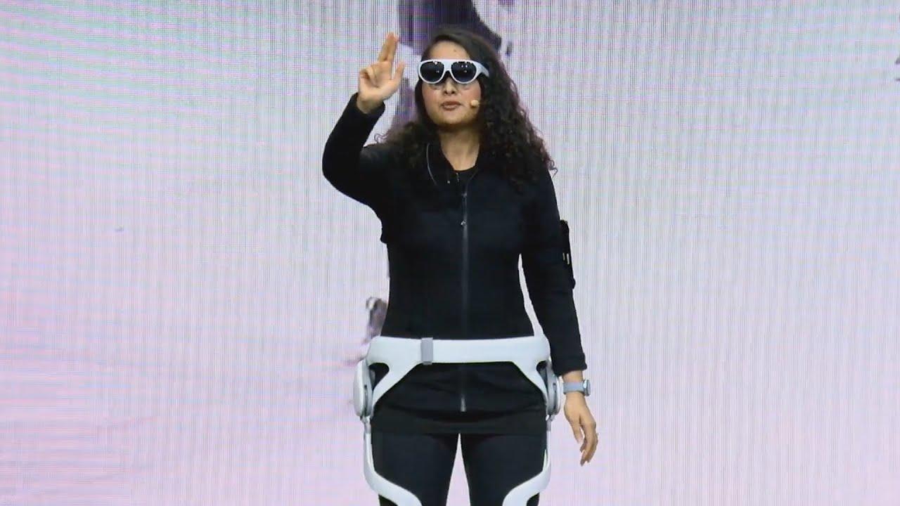 Samsung показала искусственных людей Neon, AR-очки и робота Ballie
