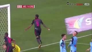 Ляказетт забил в дебютном матче за «Арсенал»