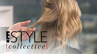 Celeb Hairstylist Kristin Ess Demos Modern Waves Two Ways | E! Style Collective | E! News