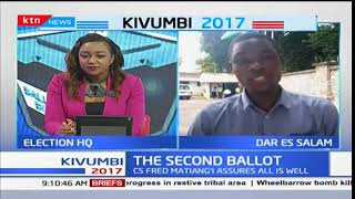 Kenyans in Tanzania vote as NASA supporters keep off