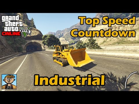 Fastest Industrial Vehicles (2018) - GTA 5 Best Fully Upgraded Cars Top Speed Countdown
