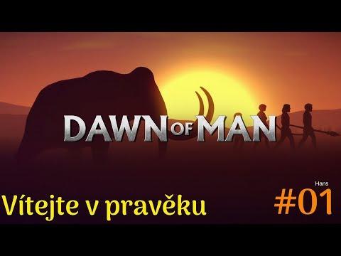 VÍTEJTE V PRAVĚKU aneb jak přežívali první lidé - DOWN OF MAN | #01 | StarzGamez | CZ/SK