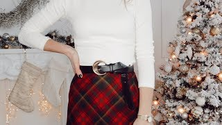 HOLIDAY PARTY OUTFITS ON A BUDGET | $100 Challenge