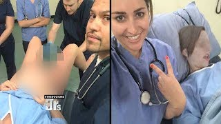 Should Doctors Post Selfies with Patients During Treatment?