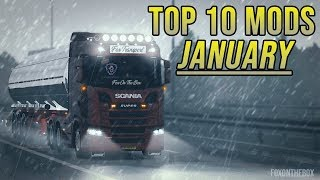 TOP 10 ETS2 MODS - JANUARY 2019 | Euro Truck Simulator 2 Mods