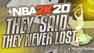 they pretended to be a top team so i played them to prove them wrong… nba 2k20 competitive pro-am