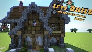 Minecraft Mittelalter Haus Bauen Tutorial Deutsch Vid - Minecraft haus bauen tutorial deutsch
