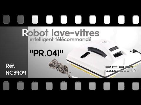 ROBOT LAVE-VITRES INTELLIGENT - [PEARLTV.FR]