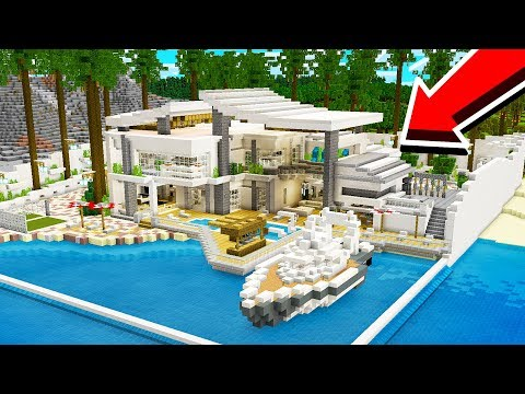 Minecraft: Redstone Door Tutorial + DOWNLOAD / for Modern