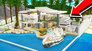 how to make a modern house in minecraft unspeakablegaming